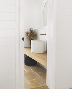 Bathrooms - Bathroom Design - Interior Design Interior Decorating - interior Design - Bathroom Interiors - Aesthetic - Design Architecture - Moodboard - Bathroom Ideas Bathroom Decor - Bathroom Remodel - Bathroom Interior Bathroom - Concrete Basin - Concrete Design - Concrete Nation - Australian Made Sustainable - Worldwide Shipping - @concretenation Clinic Interior Design, Interior Styling, Concrete, Concrete Basin, Limestone Bathroom Tiles, Limestone Tile, Powder Room Design, Basin, Main Bathroom