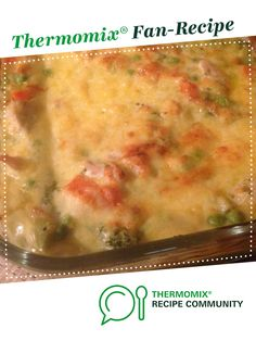 Chicken Broccoli Bake by A Thermomix recipe in the category Main dishes - meat on the Thermomix Community Meat Recipes, Asian Recipes, Crockpot Recipes, Chicken Recipes, Dinner Recipes, Cooking Recipes, Chicken Meals, Savoury Recipes, Chicken Broccoli Bake
