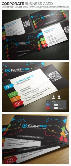 Corporate Business Card - RA38 by Respinarte
