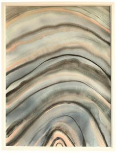 """Blue and Nude Agate"" by Jennifer Ament, $595, 22.5"" x 30"", available at Serena & Lily. #serenaandlily"