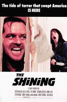 The Shinning by Stephen King, this is where you are not sure if the movie is better than the book b/c the acting was so fantastic!