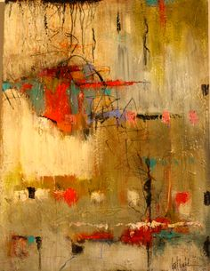 Abstract, beautiful golds