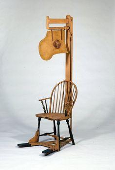 George Washington's Fan Chair!