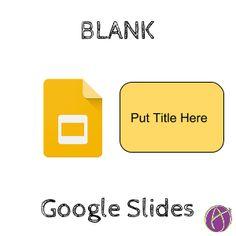 blank collaborative google slides