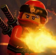 Kai - fiercely loyal and the Elemental Master of Fire 🔥 LEGO Ninjago, January 2018 Ninjago Kai, Ninjago Memes, Ninjago Party, Lego Ninjago, Working Robots, Naruto Sasuke Sakura, Funny Videos For Kids, Lego Group, Lol League Of Legends