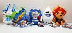"5 Yokai Yo-Kai Watch Plush Toys Stuffed Animals Hasbro 7"" #Hasbro"