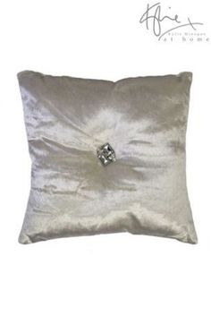 Buy Kylie Gatsby Cream Oyster Cushion from the Next UK online shop