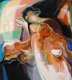 irene sheri paintings | Irene Sheri - White Flower