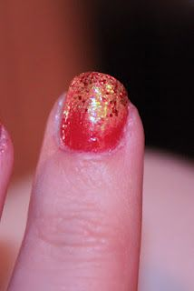 Hunger Games Mani (with tutorial this time)