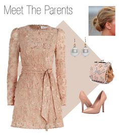 """""""Meet The Parents"""" by njpryce ❤ liked on Polyvore featuring Zimmermann, Charles by Charles David and Simone Rocha"""