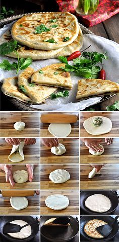 Aloo Paratha Indian Potato Stuffed Flatbread - insanely delicious, and a simple…