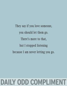 """""""Letting Go"""""""