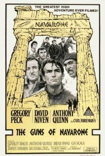 The Guns of Navarone (1961) Poster Pinned By www.historysimulation.com