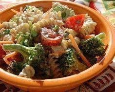 Low cal. Pasta salad