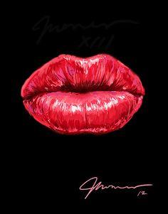 SEXY LIPS by Groenewold Mauricio, via Behance