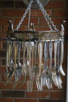 Silverware Windchimes