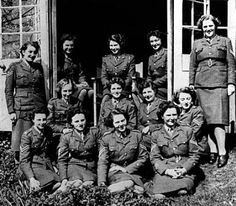 Princess Elizabeth (centre, back row) with other Non-Commissioned Officers in the Auxiliary Territorial Service (the women's Army), which Her Royal Highness enlisted in towards the end of World War Two. © Imperial War Museum