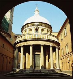 Tempietto (1502) of Bramante - Google Search