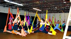 I NEED one of these!!! Aerial Yoga Hammock - Aerial (Unnata) Yoga Swing or Antigravity Yoga, TRX & Inversion Therapy