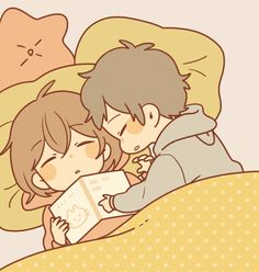 Image about cute in Anime/Manga 💙 by Rose on We Heart It Anime Chibi, Chibi Cat, Kawaii Anime, Cute Chibi Couple, Cute Couple Art, Anime Love Couple, Cute Couple Drawings, Cute Drawings, Anime Couples Manga