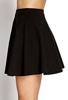 Basic Skater Skirt on InStores