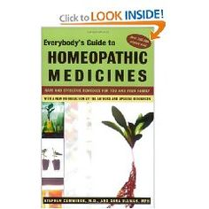 This was my first homeopathic book.  It helped me pick the remedy Apis that healed Joshua's swollen eyes from an allergic reaction to horses.  I became a believer in homeopathy that day!