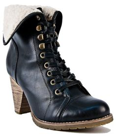 Amazon.com: Chelsea Crew Tolido Lace Up Ankle Boots - Black: Shoes