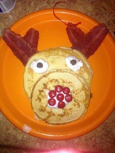 Reindeer pancackes