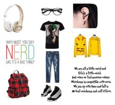 """""""Nerds"""" by heedagurl on Polyvore featuring NIKE and Aéropostale"""