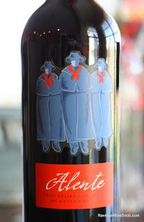 Alente Red Trincadeira Aragonez 2009 - Everyday. A delicious Portuguese blend you can drink everyday. $9, http://www.reversewinesnob.com/2012/11/alente-red-trincadeira-aragonez-2009-everyday.html