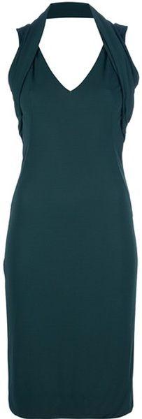 MCQUEEN Fitted Midi Dress - Lyst