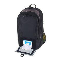 Amazon.com : DadGear Backpack Diaper Bag - Solid Black : Diaper Tote Bags : Baby