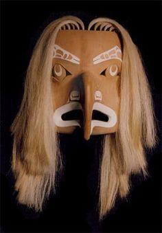 Native American Art and Alaskan Native art - Art Gallery - mask