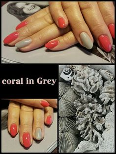 #coral #in #grey #fashion #2016 #happyhands #didierlab #no5 #laimingosrankos