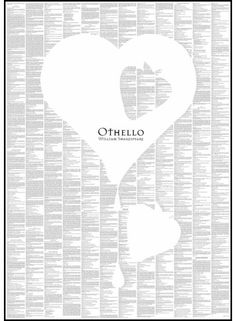 Othello - Shakespeare's classic tale of love, pride and revenge all on one page, ready for you to frame, or we can supply it framed in Black, White or Silver wood frame. Othello By William Shakespeare, Shakespeare Love, Teaching Tools, Teaching Kids, Spineless Classics, Kids Piano, Shadow Silhouette, School Displays, Book Posters