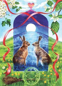 Image result for art spring equinox pagan