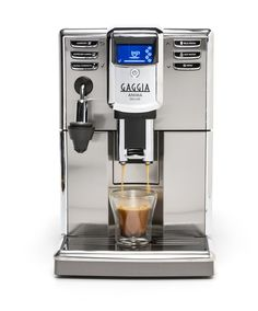Gaggia Anima Deluxe Super-Automatic Espresso Machine - Whole Latte Love Gaggia Espresso Machine, Home Espresso Machine, Espresso Machine Reviews, Automatic Espresso Machine, Cappuccino Machine, Espresso Maker, Espresso Coffee, Coffee Machine, Coffee Maker