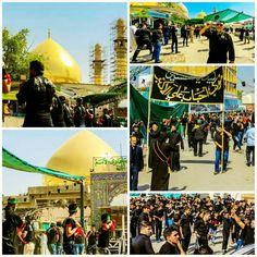 [ 8 Muharram 1438 ]  Right Now Processions Inside Al-Askarian Holy Shrine