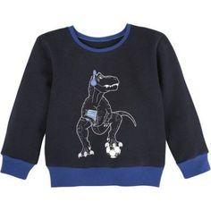 G-Cutee Boys Dinosaur Sweater, Size: 5, Blue