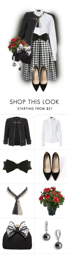 """@"" by lavanda79-1 ❤ liked on Polyvore featuring Dolce&Gabbana, Steffen Schraut, Miss Selfridge, J.Crew, Marina J., Nearly Natural, Miss KG and Mikimoto"
