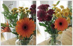 Kotivalossa, autumn bouquet