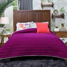 Basic Magenta Reversible Comforter $51.24-$87.11 - A Bit Unique Boutique