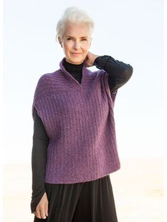 Models – Simple tank top with a sophisticated cut – LANA GROSSA – Best Knitting 2020 Knitting Blogs, Knitting Designs, Knitting Patterns Free, Knit Patterns, Free Knitting, Knitting Ideas, Knit Vest Pattern, Pulls, Knitwear