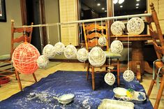 messiest, merriest and whirliest DIY balls — Wednesday