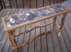 Agate table Made by Dave Woerheide                                                                                                                                                                                 More