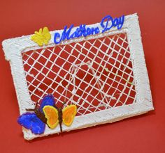 Frame with Butterfly Cover - 3Doodler  #MothersDay #Gift #WhatWillYouCreate?