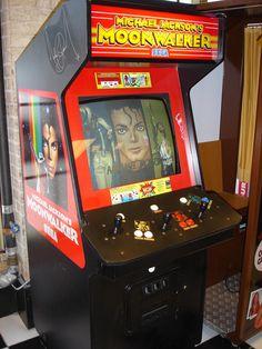 Michael Jackson's Moonwalker Arcade - (1990) - #retrogaming #oldschool #arcade