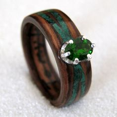 Earth Wood Ring