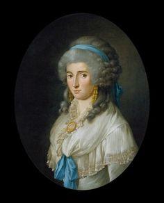 Charlotte von Stein (1742-1827)  door Georg Melchior Kraus (1787); in 1811 ontwerpt Charlotte haar eigen grafschrift: Sie konnte nichts begreifen, die hier im Boden liegt, nun hat sie's wohl begriffen, da sie sich so vertieft.