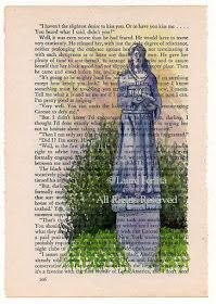 Painted Thoughts Blog: Watercolor Painting On Old Pages - Tutorial